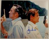 Roger Moore Signed 8x10 James Bond 007 photo auto #5 w/ Beckett BAS COA