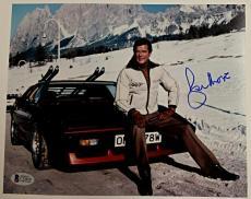 Roger Moore Signed 8x10 James Bond 007 photo auto #6 w/ Beckett BAS COA