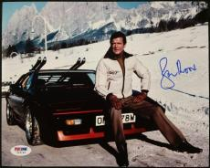 Roger Moore Signed 8x10 James Bond 007 photo auto #6 w/ PSA/DNA COA
