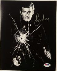 Roger Moore Signed 8x10 James Bond 007 photo auto #7 w/ PSA/DNA COA