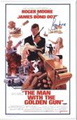Roger Moore Signed Authentic Photo Poster 11x17 James Bond 007 Psa W42631