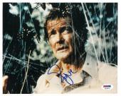 Roger Moore Signed James Bond 007 Autographed 8x10 Photo (PSA/DNA) #K16771