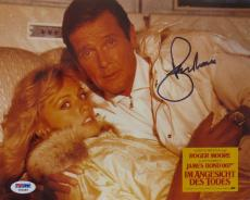 Roger Moore Signed James Bond 007 Autographed 8x10 Photo (PSA/DNA) #T82889