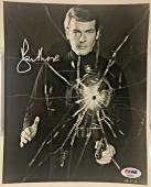 ROGER MOORE Signed JAMES BOND 007! Live and Let Die 8x10 Photo PSA/DNA COA AUTO