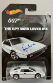 ROGER MOORE Signed James Bond 007 LOTUS ESPRIT S1 Hot Wheel #'ed /007 w/PSA/DNA