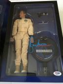 ROGER MOORE Signed JAMES BOND 007 MOONRAKER Sideshow Action Figure PSA/DNA COA