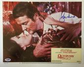 ROGER MOORE Signed JAMES BOND 007 OCTOPUSSY Original Lobby Card PSA/DNA COA A