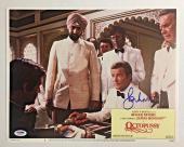 ROGER MOORE Signed JAMES BOND 007 OCTOPUSSY Original Lobby Card PSA/DNA COA E