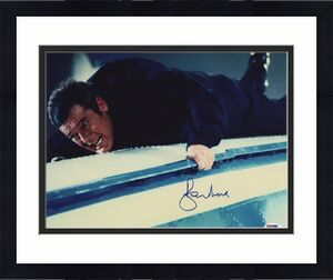 Roger Moore Signed James Bond 007 Photo 11x14 - Autographed PSA DNA 16