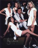 Roger Moore Signed James Bond 007 Photo 11x14 - Autographed PSA DNA Witness 3