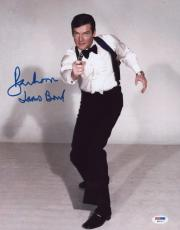 "Roger Moore Signed ""james Bond"" 11x14 Photo Auto Psa/dna W91417"