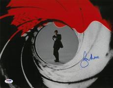 Roger Moore Signed James Bond Authentic Autographed 11x14 Photo PSA/DNA #AC17394