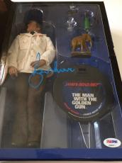 ROGER MOORE Signed JAMES BOND Man With the Golden Gun Sideshow Figure PSA COA