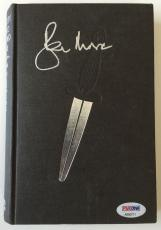 ROGER MOORE Signed JAMES BOND Spy Who Loved Me Ian Fleming HC Book PSA/DNA COA
