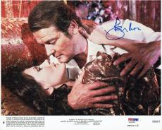 Roger Moore Signed Octopussy Autographed 8x10 Lobby Card PSA/DNA #AA24202