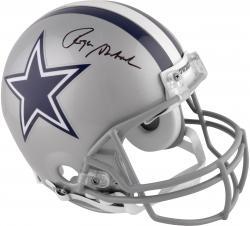 Roger Staubach Dallas Cowboys Autographed Pro-Line Riddell Authentic Helmet