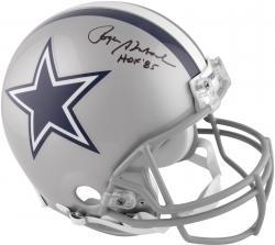 Dallas Cowboys Roger Staubach Autographed Hall of Fame Pro Helmet