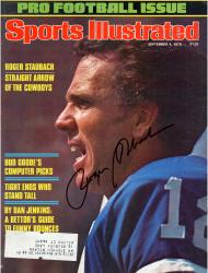 Roger Staubach Dallas Cowboys Autographed September 4 Edition Sports Illustrated Magazine