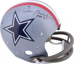 Roger Staubach Dallas Cowboys Autographed TK Suspension Helmet with HOF 85 Inscription