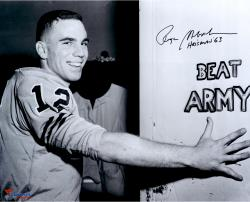 Roger Staubach Navy Midshipmen Autographed 16'' x 20'' Photograph with Heisman 63 Inscription #2-11 Limited Edition of 12