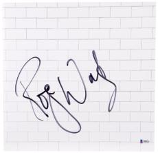 Roger Waters Autographed Pink Floyd The Wall Album Cover- BAS COA