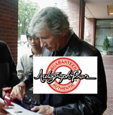Roger Waters Autographed Signed Guitar UACC RD