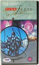 Roger Waters & David Gilmour Signed Pink Floyd Vhs PSA/DNA #Q52177
