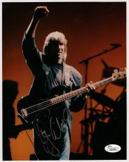 ROGER WATERS HAND SIGNED 8x10 PHOTO      AWESOME POSE      PINK FLOYD        JSA