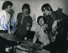 Roger Waters Nick Mason Pink Floyd Signed 11x14 Photo AFTAL