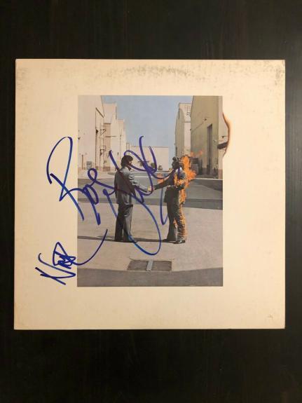 Roger Waters & Nick Mason Signed Autograph - Vinyl Album Record Lp - Pink Floyd