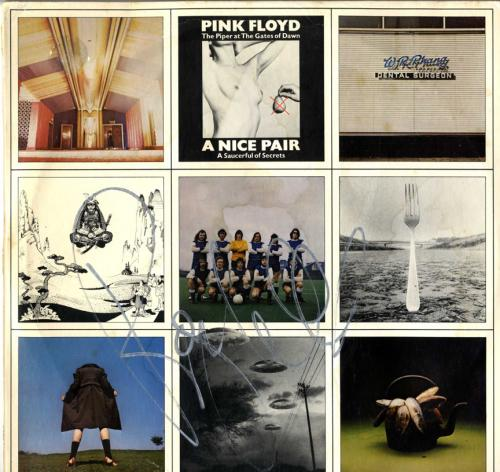 Roger Waters Pink Floyd Autographed A Nice Pair Album Cover AFTAL UACC RD COA