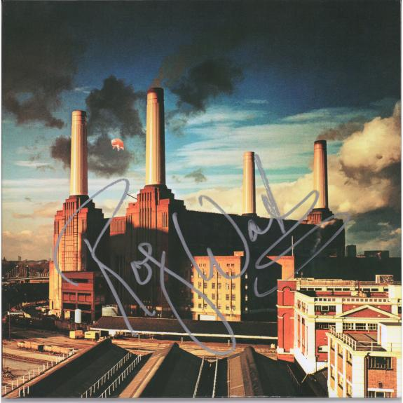Roger Waters Pink Floyd Autographed Animals Album - PSA
