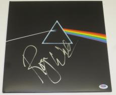 Roger Waters Pink Floyd Dark Side Of The Moon Signed Exact Proof Album Lp Psa