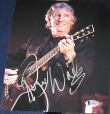 ROGER WATERS PINK FLOYD Music SIGNED 8x10 Photo BAS/COA Autographed #A09781
