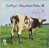 Roger Waters Pink Floyd Signed Atom Heart Mother Album Cover W/ Vinyl BAS