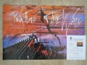 Roger Waters Pink Floyd Signed Autograph 24x36 Poster BAS Certified The Wall #2