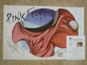 Roger Waters Pink Floyd Signed Autograph 24x36 Poster BAS Certified The Wall #4
