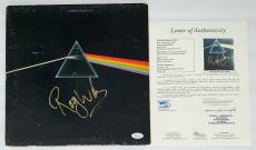 Roger Waters Pink Floyd Signed Dark Side Of The Moon Record Album Jsa Loa Y57048
