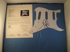 Roger Waters Pink Floyd Signed Guitar Pickguard JSA COA LOA Autograph Strat
