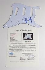 Roger Waters Pink Floyd Signed Guitar Pickguard Jsa Loa X07046