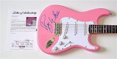 Roger Waters Pink Floyd Signed Guitar Psa Loa K74517
