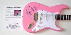 Roger Waters Pink Floyd Signed Guitar Psa Loa K74523