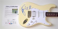 Roger Waters Pink Floyd Signed Guitar Psa Loa K74524