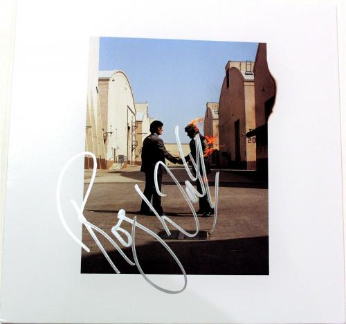 Roger Waters Pink Floyd Signed New Album W/COA Wish You Were Here