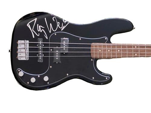 Roger Waters Pink Floyd Signed Signed Fender Bass Guitar Autograph Proof Bas Loa