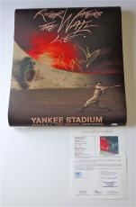 Roger Waters Pink Floyd Signed The Wall Live - Yankee Stadium Poster Jsa Y57050