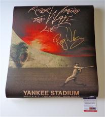 Roger Waters Pink Floyd Signed The Wall Live - Yankee Stadium Poster Psa V28750