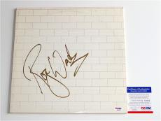 Roger Waters Pink Floyd Signed The Wall Record Album Psa Coa Q60661