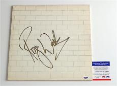 Roger Waters Pink Floyd Signed The Wall Record Album Psa Coa Q60662