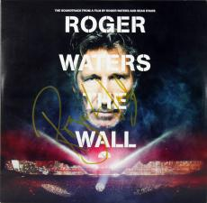 Roger Waters Pink Floyd Signed The Wall Soundtrack Album Cover W/ Vinyl BAS